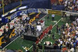 ArenaBowl XIX postgame celebration - Thomas & Mack Center - Las Vegas, NV