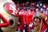 San Francisco 49ers mascot Sourdough Sam