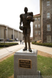 Ernie Davis statue in front of the Carrier Dome - Syracuse, NY