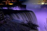 Niagara Falls at Night from USA