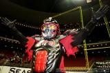 Orlando Predators mascot - Klaw