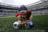 NFL Huddles: New York Giants huddles figures at the New Meadowlands Stadium