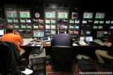 Inside the CBS Sports Graphics truck