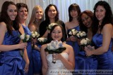 Kathleen Cartwright with her bridal party
