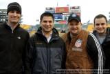 CBS Sports crew before the 2010 AFC Divisional Playoff in Pittsburgh