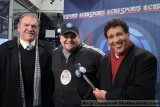 Me with Dan Dierdorf & Greg Gumbel before the 2010 AFC Divisional Playoff in Pittsburgh