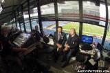 CBS Sports announcers Greg Gumbel & Dan Dierdorf