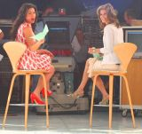 The Today Show's Natalie Morales  with Stacy London from What Not to Wear