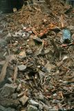Debris from construction site