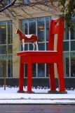 The Yearling art piece