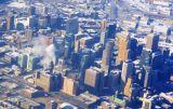 Aerial of downtown Minneapolis, Minnesota