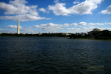Jefferson Memorial and Washington Memorial