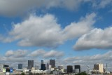 Downtown Atlanta from Turner Field