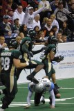 San Jose SaberCats kickoff returner Trestin George