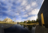 Panorama of Oklahoma City Bombing Memorial