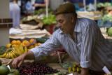 Selling fruits in Mercado dos Lavradores