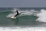 Surfing at Bells Beach, Victoria