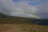 Rainbow southwest of Hana