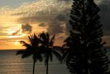 Sunset at Kahana