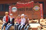 Grandma and Kids on Pike's Peak