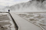 Yellowstone walkway
