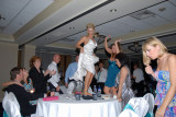 a little table top dancing.