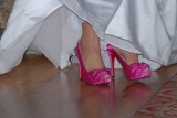 love those pink shoes