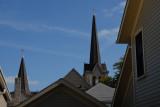steeples and peaks