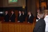 handsome groomsmen Bill, JR, Jeff, Mark, Derrick, Eric & Garrett