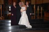 Brides proud parents