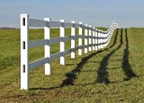Fence with Shadow