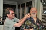 Bro Paul bites Ken with fish head