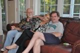 Ken, Nancy, and bro Paul