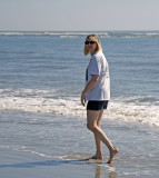 Heather on Sullivan's Island - 10/10/10