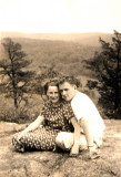 Mom and Dad on Panther Mountain 6-13-37