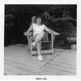 Lolly on dock 1959