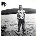 Paul on CLCC dock 1954