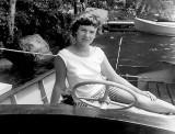 Lolly in someone's boat
