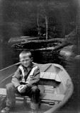 Paul in row boat