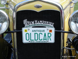 1931 Ford  Model A License Plate