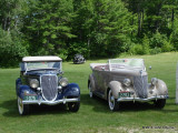 1934 Ford Roadster & 1936 Ford Phaeton