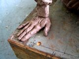 the uncle's hand :: clay
