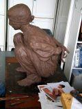 boy, side :: clay