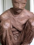 boy, front detail :: clay