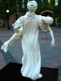 father & son :: salt (occidental square, seattle)