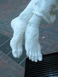 son's feet, detail :: salt (occidental square, seattle)