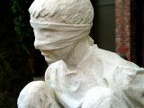 bound boy, detail :: salt (occidental square, seattle)