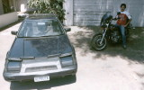My 84 Prelude and 81 CB900 Custom