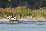 Water Skiboard Jump