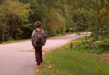 Walking Home After School.